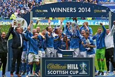 St Johnstone 2 Dundee United 0 A goal in each half at Celtic Park earned St Johnstone the first William Hill Scottish Cup in the club's 130-year history.