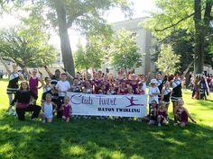 Club Twirl Baton Twirling.  Cheyenne WY Frontier Days Parade 7/20/13  Photo: Natasha Parvin
