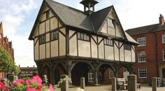 Grammar school in Market Harborough town centre