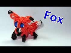 ▶ Rainbow Loom: FOX Charm: How To Tutorial / Design (DIY Mommy) - YouTube