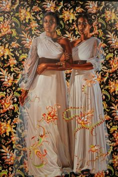 Women In Art History — Kehinde Wiley Kara Walker, Kehinde Wiley, Singer Sargent, Young Black, Sisterlocks, Going Natural, Museum Of Fine Arts, Mug Shots, Urban Art