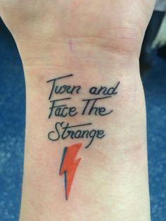 Image result for aladdin sane lightning bolt tattoo