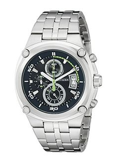 Men's Wrist Watches - Citizen Mens AN345084L Analog Display Japanese Quartz Silver Watch ** Read more reviews of the product by visiting the link on the image.