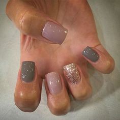 Use Jamberry wraps daydream, gray dove and gold sparkle. Nail Design, Nail Art, Nail Salon, Irvine, Newport Beach