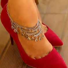 Wire Jewelry, Silver Jewelry, Unique Jewelry, Silver Anklets, Trending Outfits, Handmade Gifts, Heels, Awesome, Etsy