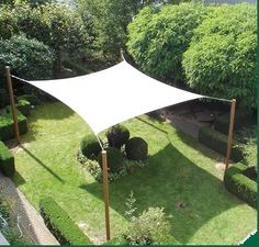 Amazing and Unique Tips: Backyard Canopy Pergola Cover garden canopy gazebo. Backyard Canopy, Garden Canopy, Patio Canopy, Canopy Outdoor, Canopy Tent, Backyard Patio, Backyard Landscaping, Fabric Canopy, Canopy Lights