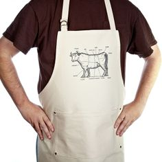 The Bullheaded Mans Kitchen Apron Kitchen Aprons, Kitchen Gifts, Bbq Accessories, Kitchen Accessories, Bbq Apron, Apron Diy, Unique Dining Tables, Grilling Gifts, Apron Pockets