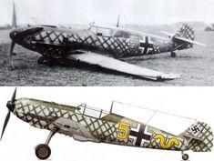 Bf 109E3 9.JG54 (Y5+~) Waldemar Wubke France Sep. 1940