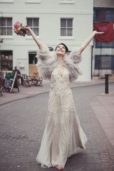 Jenny Packham Wedding Dress - I'd get married all over again ( to the same man, obvs) to wear another Jenny Packham dress.