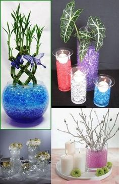 2ecf5a3fe 100 Bags Magic Water Crystal Ball Soil Beads For Candle Wedding Party  Decrotion Hidrogel, Decoracion