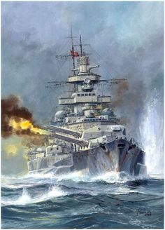 Scharnhorst - German Battleship ~ BFD