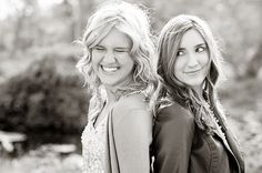 Two Girls Posing Idea For Sisters Older Sibling Pictures Adult Family