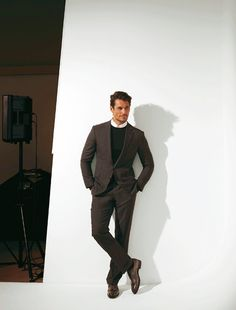 Madame Figarco magazine. Hair styles: Larry King / Model: David Gandy