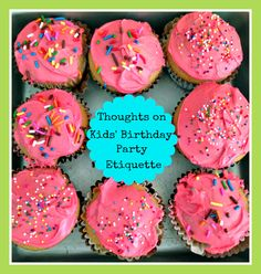 The Scoop on Kids' Birthday Party Etiquette