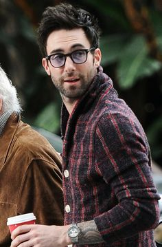 Adam Levine - I love that he wears all of these crazy sweaters!!