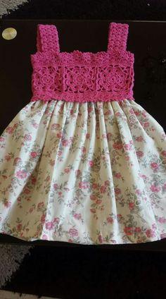 Kids Summer Dresses, Baby Girl Crochet, Babies Clothes, Crochet Blouse, Flower Girl Dresses, Wedding Dresses, Girls, Pattern, Fashion