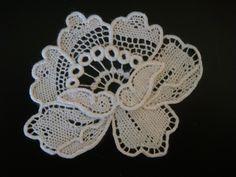 Irish+Crochet+Lace+Free+Patterns | needlelace flower