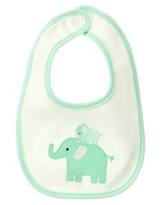 Elephant Reversible Bib at Gymboree Collection Name: Brand New Baby Basics (2015)