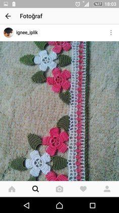 Crochet Trim, Crochet Lace, Baby Knitting Patterns, Crochet Patterns, Diy Hammock, Crochet Bedspread, Crochet Borders, Diy Flowers, Doilies