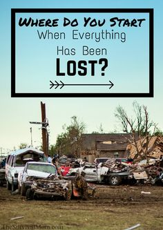 When your home has been destroyed, where do you start recovering and rebuilding your life??