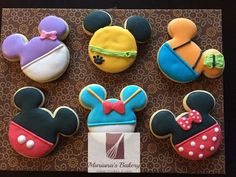 Mickey Mouse Club House cookies 15 cookies by MarianasBakery