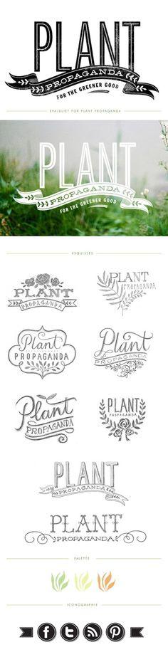Mon carnet: plant propaganda http://www.blog.evajuliet.com/2012/11/plant-propaganda.html