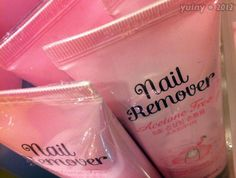"""""""Sick and tired of your nails? Would you like to remove those unsightly things from your fingers? Try Nail Remover now!""""  heheheheh."""