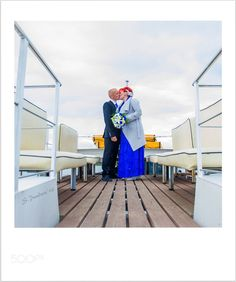 E & A Wedding day on the boat by SeanaPundure
