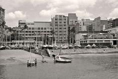 Slipway and Yacht Club, Durban Bay 1962