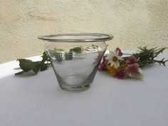 jar, Pot 18th century, Antique French jam jars in blowned glass de la boutique VintagedeFrance sur Etsy