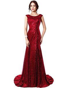Clearbridal Mermaid Sequins Burgundy Evening Gown For Women Formal CSD197BG-US8 Clearbridal http://smile.amazon.com/dp/B00VUNIQ8O/ref=cm_sw_r_pi_dp_l67xwb0VYRJV9