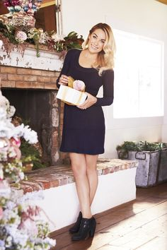One dress to style differently for each of your holiday events. LC Lauren Conrad at #Kohls
