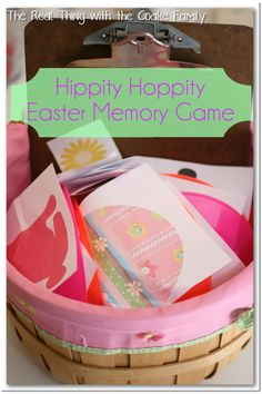 We love fun activities for the family! This is a fun, active Easter game of memory for the whole family.