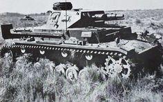 Panzer IVD in scrub #worldwar2 #tanks