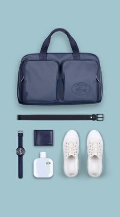 Lacoste. Casual Sneakers, White Sneakers, Casual Shoes, Lacoste Clothing, Ozwald Boateng, Preppy Style, Men's Style, University Style, Laptop Bag