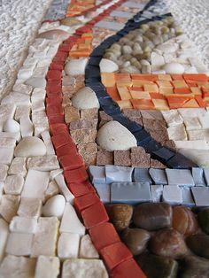 mosaic stones via Flickr