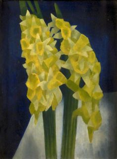 Mark Gertler (British, 1891-1939), Daffodils