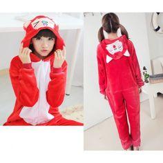 Foxes Onesies Kigurumi Sleep Suit Huispak