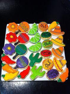 Fiesta Sugar cookies - Google Search
