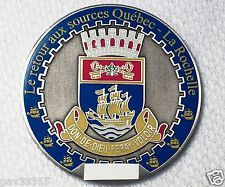 2007 Quebec City - 1608 to 2008 - Ant.Silver Finish - New Unactivated Geocoin