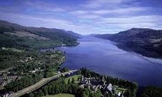 loch ness Scotland. I have sailed across here.