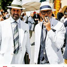 sartoria-dalcuore:  Style Men Italian #director #damianoannunziato and #fabrizioriani @gentlemen_wear_daily