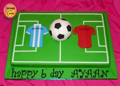 Football Pitch Cake | Flickr - Photo Sharing!