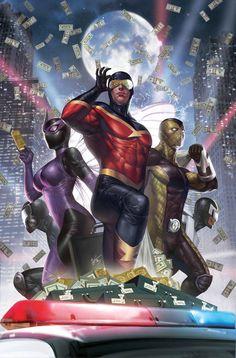 Superior Foes of Spider-Man 7 Marvel Comic Book cover Comic Book Villains, Marvel Villains, Marvel Comics Art, Marvel Comic Books, Marvel Vs, Fun Comics, Marvel Characters, Best Comic Books, Comic Books Art