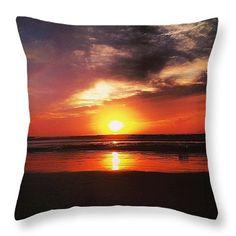 "Sunrise  Throw Pillow 14"" x 14"""