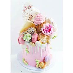 : @sugarsugar_cakes #wow #inspirasjon #kake #cake #delikat #beautiful #detlilleekstra #dinbabyshower #nettbutikk #babyshower #dåp #navnefest www.dinbabyshower.no