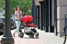 The Britax B-Ready Stroller includes a reversible top seat with four recline positions.