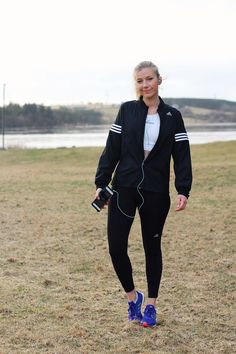 Fitness style, Adidas stripes