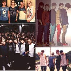 One Direction and 5 Seconds of Summer <3