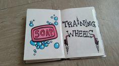 Desenho De Soap e Trainnig Wheels